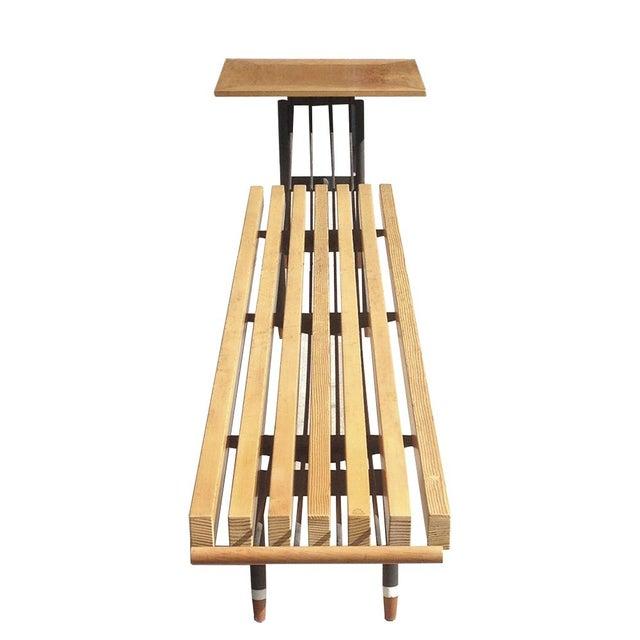 Sculptural Mid Century Modern Table Amp Bench Chairish