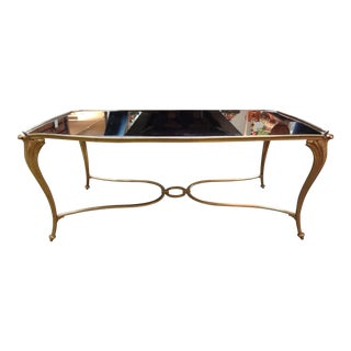 French Gilt Bronze Cocktail Table