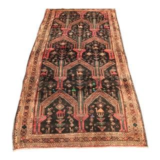Vintage Persian Turkaman Rug - 3′8″ × 7′5″