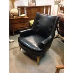 Image of Black Vinyl 1960s Chair