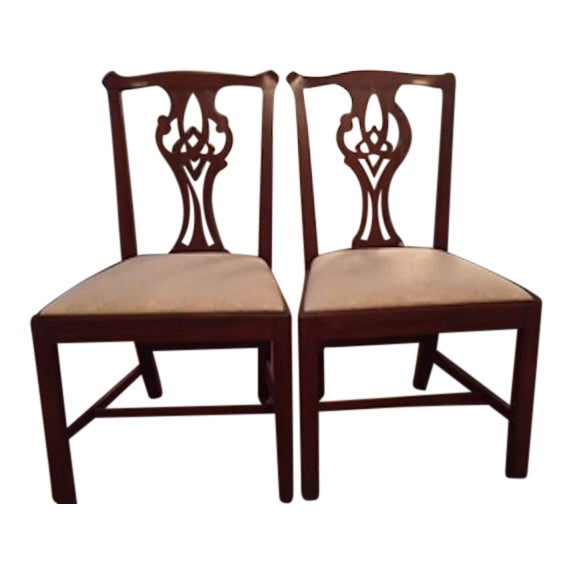 Henkel Harris Side Chairs - Set of 4 - Image 5 of 10