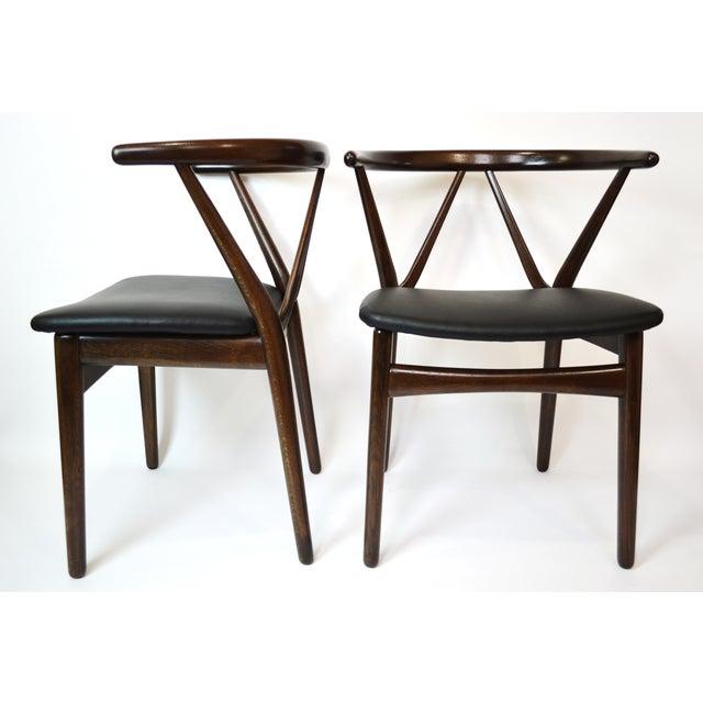 Danish Bruno Hansen Dining Chairs - A Pair - Image 3 of 10