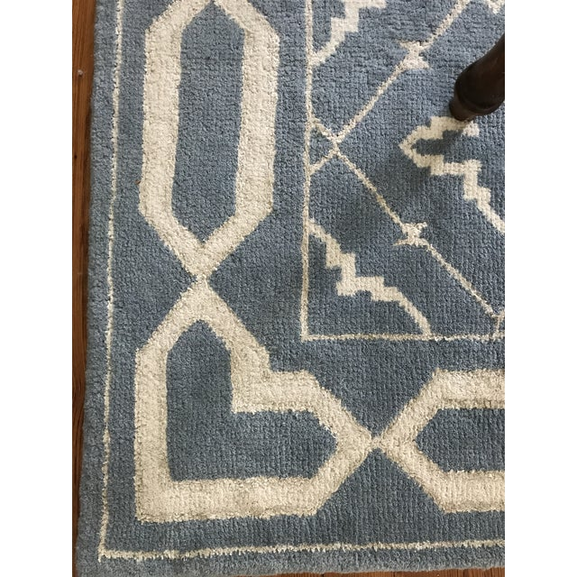 Safavieh Hand-Knotted Transitional Wool and Silk Rug - 6'x9' - Image 4 of 5