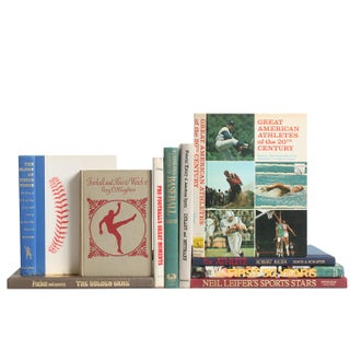 American Sports Library Books - Set of 10