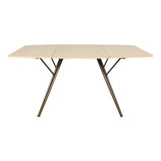 Vintage Formica Drop Leaf Dining Table