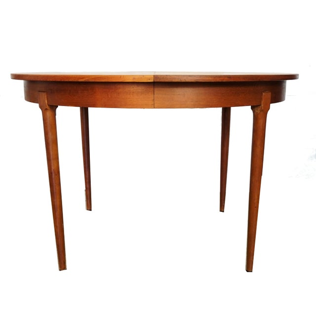 Rosengaarden Teak Dining Table with Leaf - Image 2 of 7