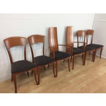 Image of A. Sibau Italian Mid-Century Modern Dining Chairs- Set of 6