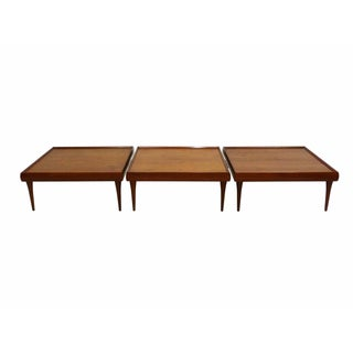 Danish Teak Coffee Tables by Bramin - Set of 3