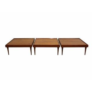Danish Teak Coffee Tables by Bramin - Set of 3