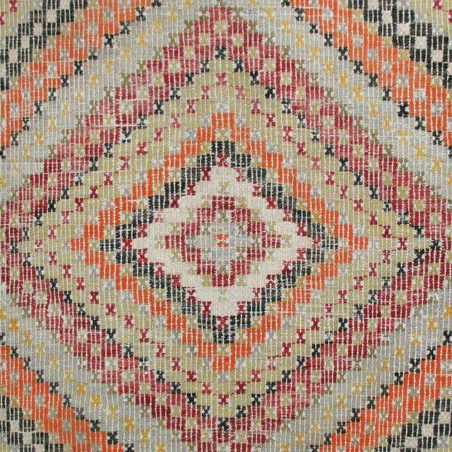 Vintage Turkish Flatweave Kilim - 3'2'' x 4'1'' - Image 3 of 4