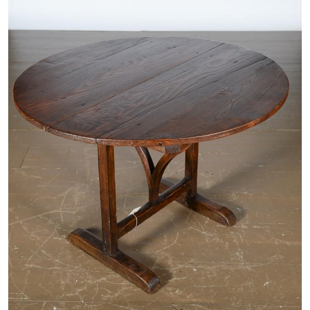 Image of Antique 19th Century French Country Dining Table
