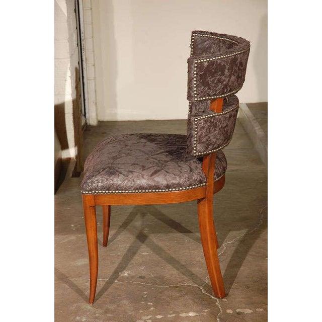 Paul Marra Klismos Style Chair - Image 6 of 8