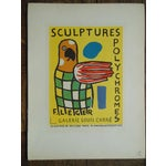 Image of 1959 Leger Mid 20th C Modern Abstract Lithograph
