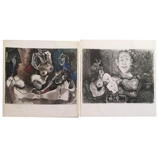 '73 Picasso Art Books, Galerie Louise Leiris- Pair