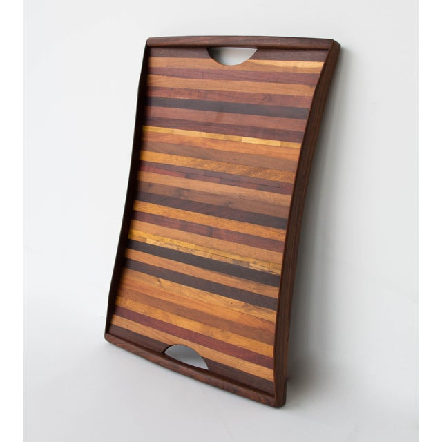 Image of Don Shoemaker for Señal Rosewood Handled Tray