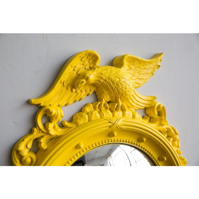 Image of Custom Painted Yellow Convex Federal Mirror