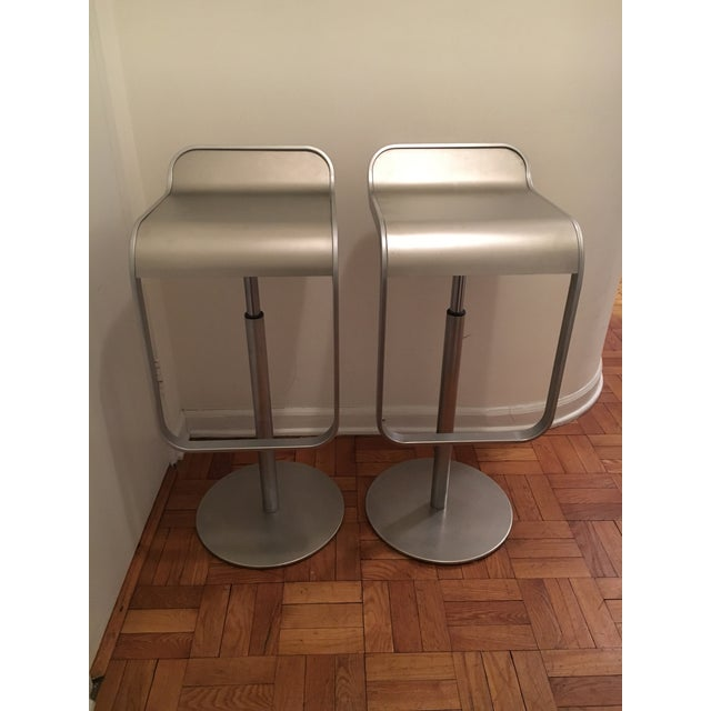 Image of LEM Piston Bar Stools - A Pair