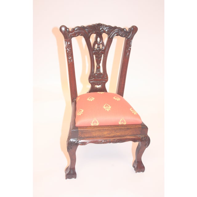 Chippendale-Style Doll Chair - Image 3 of 7