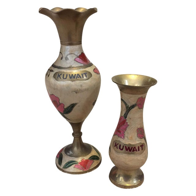 Kuwait Vases - Pair - Image 1 of 7