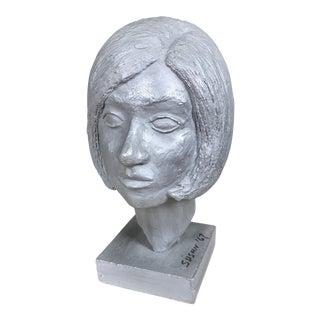 Mid-Century Woman's Bust
