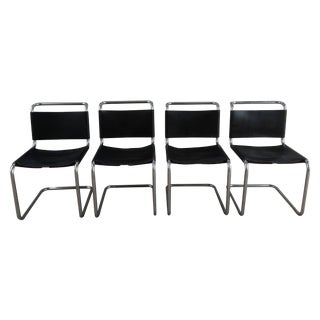 """Marcel Breuer """"Spoleto"""" Chairs for Knoll - S/4"""