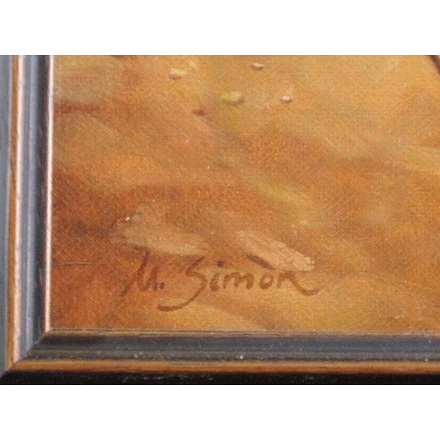 """Ute Simon """"Desert Trail"""" Horse Painting - Image 6 of 7"""