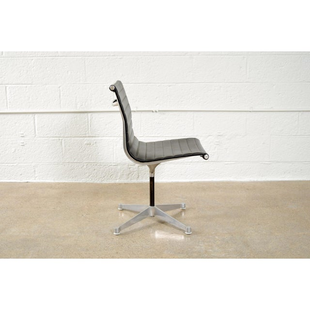 Original Eames for Herman Miller Aluminum Group Side Chair - Image 5 of 11