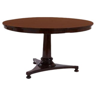 Wallace Inlaid Rosewood Round Table