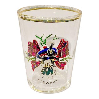 Vintage Scottish Clan Shot Glass