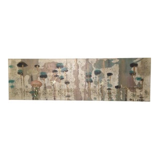 Lee Reynolds Abstract Collage Painting