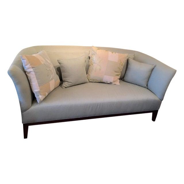 Mitchell Gold Contempoary Celadon Sofa Chairish