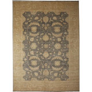 """Oushak Hand Knotted Area Rug - 9'3"""" X 12'2"""""""