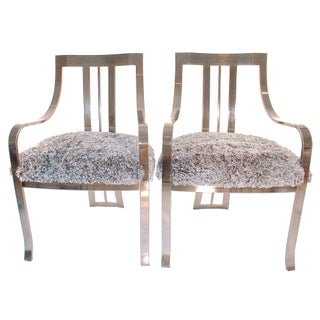 Chrome Side Chairs - A Pair
