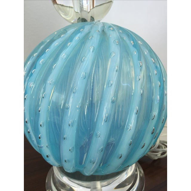Murano Glass Table Lamps - Image 8 of 10