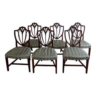Queen Anne Style Chairs - Set of 6