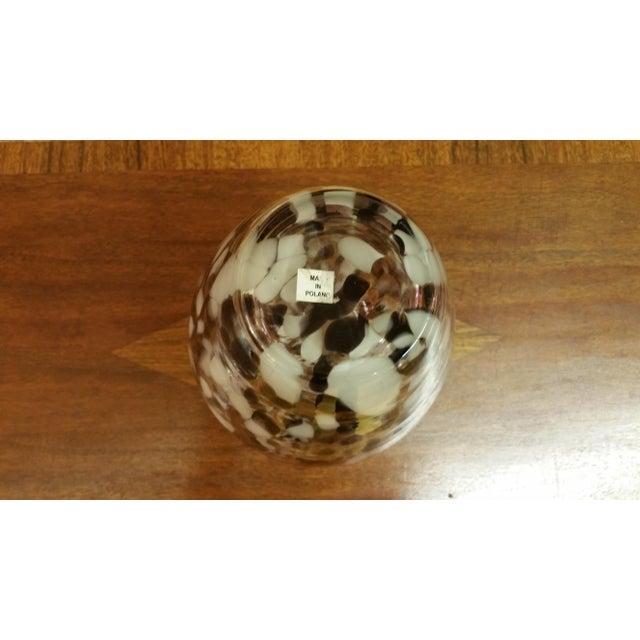 Polish Hand-Blown Art Glass Vase - Image 3 of 5