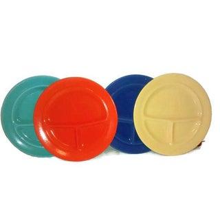 Metlox California Pottery Grill Plates - Set of 4