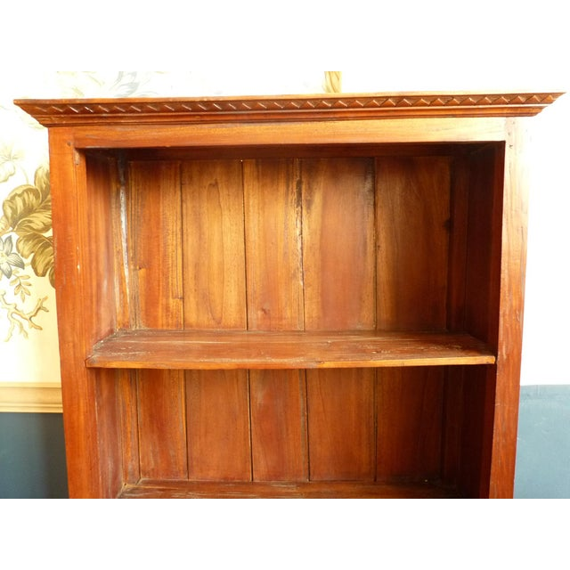 Rustic Wooden Bookcase - Image 6 of 11