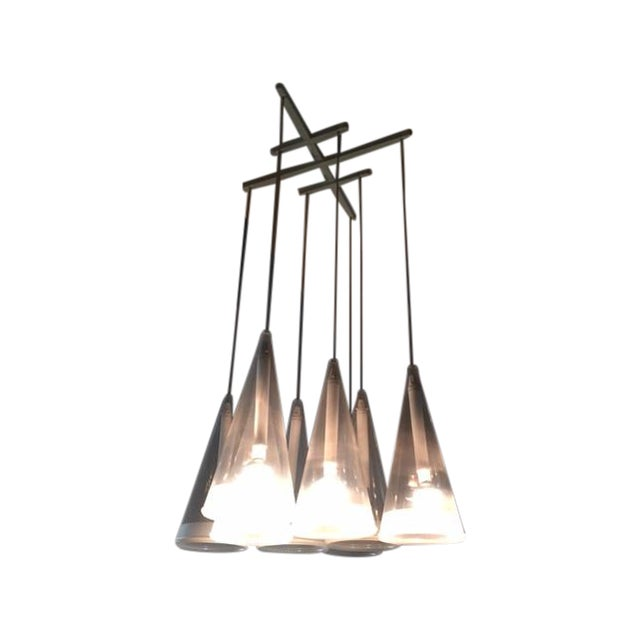 Design Within Reach Fuscia Pendant Lamp 8 - Image 1 of 3
