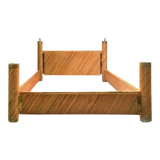 Bamboo Brass Bed by Marcello Mioni