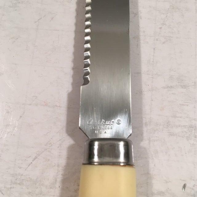 Image of Vintage Regent Sheffield Steak Knives - Set of 6