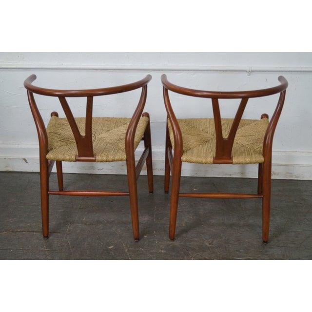 Hans Wegner Carl Hansen & Son Danish Modern Wishbone Chairs- A Pair - Image 4 of 10