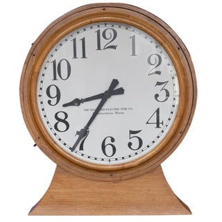 American Double-Sided Wall Clock