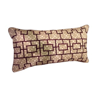 John Robshaw Pillow Sham With Embroidered Detail