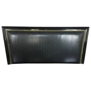 James Mont Gilt Lacquered King Size Headboard