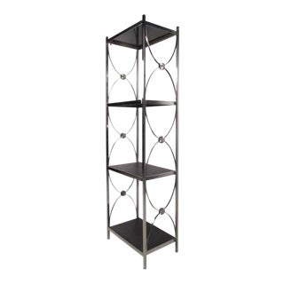 Stylish Contemporary Modern Etagere Display Shelf or Plant Stand