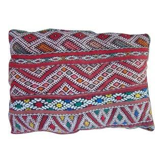Moroccan Orange & Blue Pillow Sham