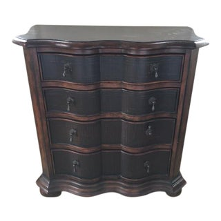 Ethan Allen Crafted Wood Lucca Serpentine Chest