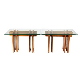 Gustav Gaarde for Trakanten Danish Modern Teak Side Tables - A Pair