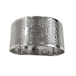 Sterling Napkin Ring With G Monogram